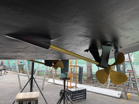 stern tubes and skegs