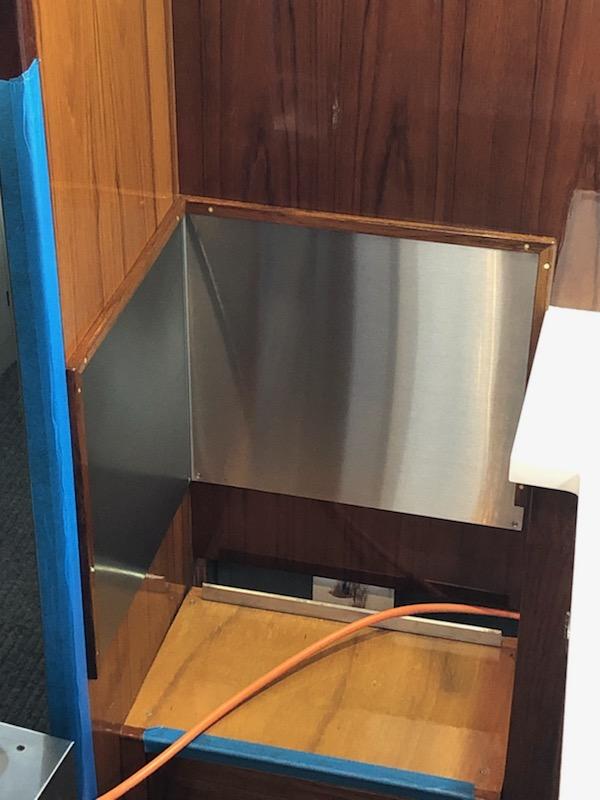 marine stainless steel kitchen