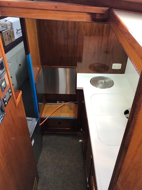 marine kitchen refurbishment