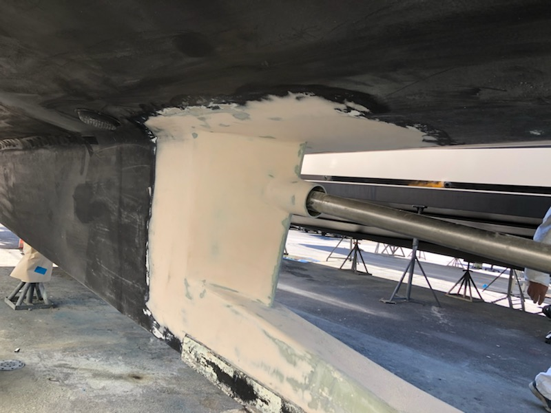 stern tube repair