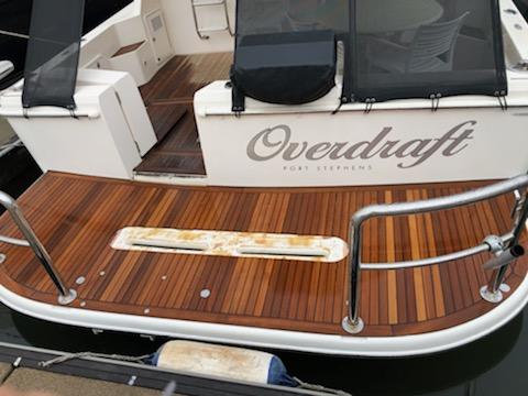 teak deck refurbishment