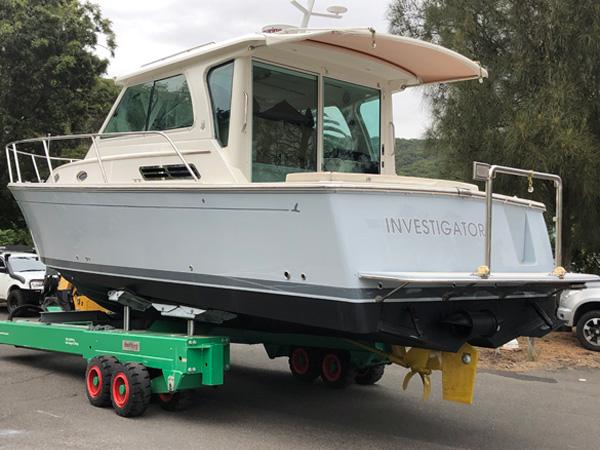 boat re-spray