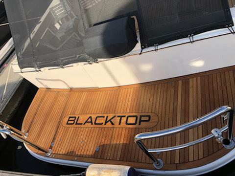 custom teak deck