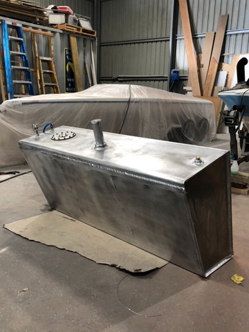 custom boat fuel tank
