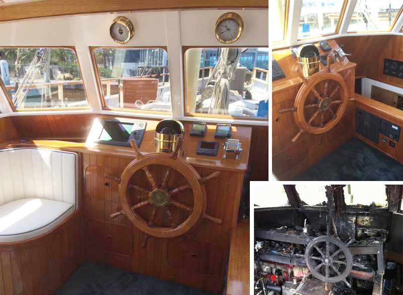 boat refit completed by EB Marine
